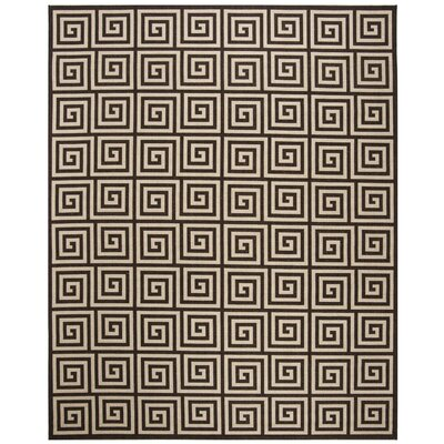Kallias Contemporary Natural Lattice Area Rug Rug Size: Rectangle 6 x 9