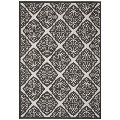 Mckinley Light Gray Area Rug Rug Size: Rectangle 9 x 12