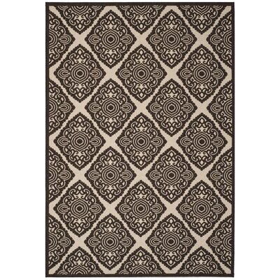 Mckinley Brown Area Rug Rug Size: Rectangle 51 x 76