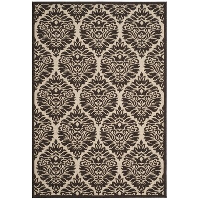 Burnell Boho Brown Area Rug Rug Size: Rectangle 51 x 76