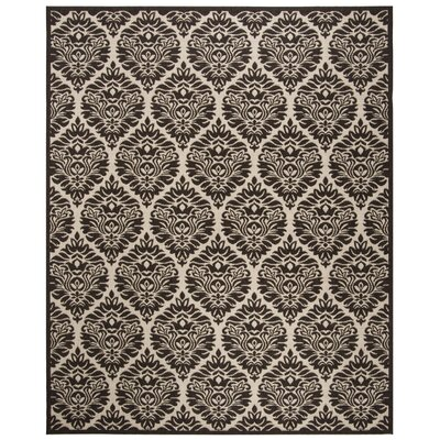 Burnell Boho Brown Area Rug Rug Size: Square 67