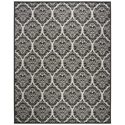 Burnell Boho Light Gray Area Rug Rug Size: Rectangle 8 x 10