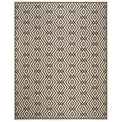 Kallias Gray/Beige Area Rug Rug Size: Rectangle 8 x 10