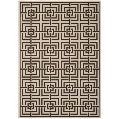 Kallias Natural Gray/Beige Area Rug Rug Size: Rectangle 51 x 76
