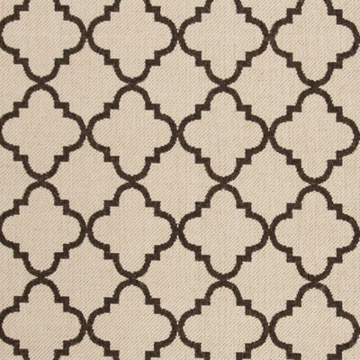 Burnell Contemporary Beige Area Rug Rug Size: Rectangle 51 x 76