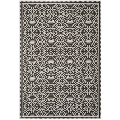 Burnell Light Gray Area Rug Rug Size: Rectangle 51 x 76