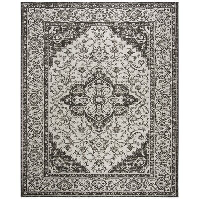Allie Light Gray Area Rug Rug Size: Rectangle 8 x 10