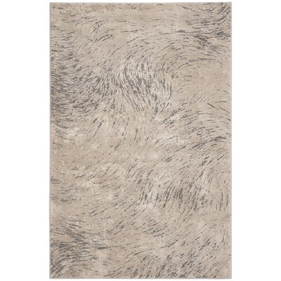 Wendi Ivory Area Rug Rug Size: Rectangle 4 x 6