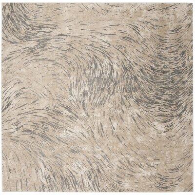 Wendi Ivory Area Rug Rug Size: Square 67