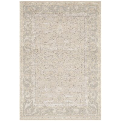 Brune Hand Tufted Putty Area Rug Rug Size: Rectangle 5 x 8