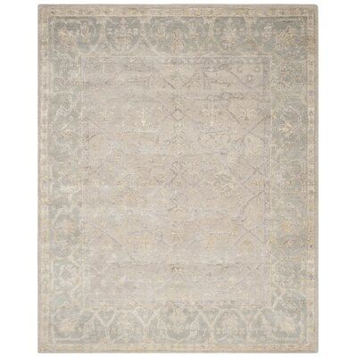 Brune Hand Tufted Putty Area Rug Rug Size: Rectangle 8 x 10