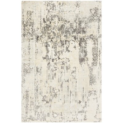 Issouf Glam Hand Tufted Ivory Area Rug Rug Size: Rectangle 8 x 10