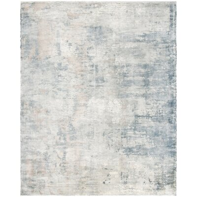 Issouf Hand Tufted Ivory Area Rug Rug Size: Rectangle 9 x 12