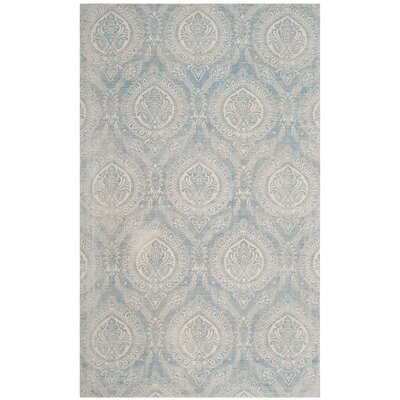 Mellie Hand Tufted Turquoise Area Rug Rug Size: Rectangle 4 x 6