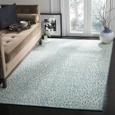 Ankit Hand Tufted Blue Area Rug Rug Size: Rectangle 4 x 6