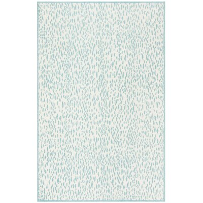 Ankit Hand Tufted Blue Area Rug Rug Size: Rectangle 5 x 8