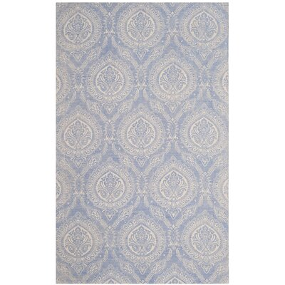Mellie Hand Tufted Blue Area Rug Rug Size: Runner 23 x 8