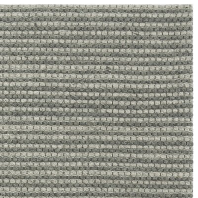 Alberta Hand Tufted Gray Area Rug� Rug Size: Square 6