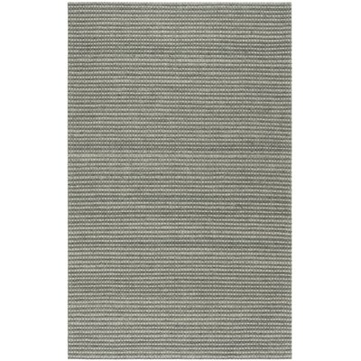 Alberta Hand Tufted Gray Area Rug� Rug Size: Rectangle 5 x 8