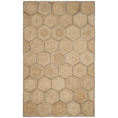 Stalder Fiber Hand Woven Natural Area Rug� Rug Size: Rectangle 5 x 8