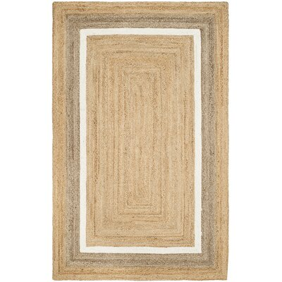 Fogarty Fiber Hand Woven Natural Area Rug� Rug Size: Rectangle 8 x 10