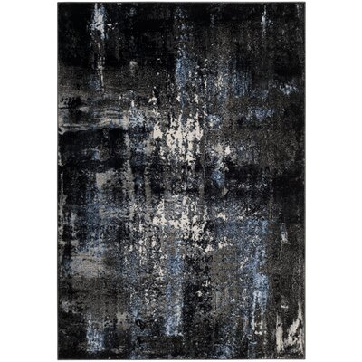 Othello Gray Area Rug� Rug Size: Rectangle 8 x 10