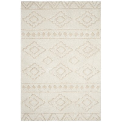 Albers Ivory Area Rug Rug Size: Rectangle 8 x 10