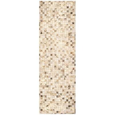 Atchley Hand Tufted Ivory Area Rug Rug Size: Runner 23 x 7