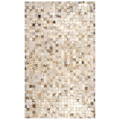 Atchley Hand Tufted Ivory Area Rug Rug Size: Rectangle 3 x 5