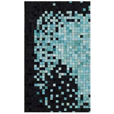 Stackpole Flat Woven Black Area Rug Rug Size: Rectangle 3 x 5
