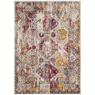 Mcintosh Boho Gray Area Rug� Rug Size: Rectangle 8 x 10