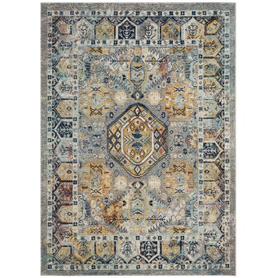 Mcintosh Gray Area Rug� Rug Size: Rectangle 4 x 6
