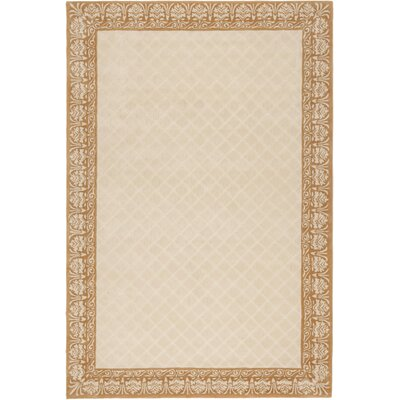 Caine Hand Tufted Ivory Area Rug Rug Size: Rectangle 6 x 9