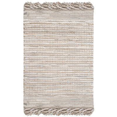 Glostrup Flat Woven Beige Area Rug Rug Size: Rectangle 8 x 10