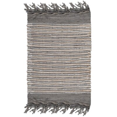 Glostrup Hand Tufted Cotton Gray Area Rug Rug Size: Rectangle 8 x 10