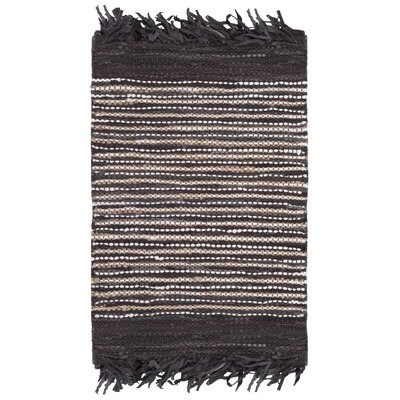 Glostrup Hand Tufted Dark Brown Area Rug Rug Size: Square 6