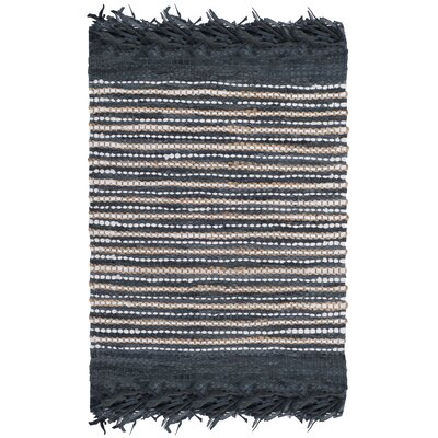 Glostrup Hand Tufted Dark Gray Area Rug Rug Size: Square 6
