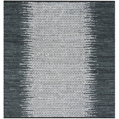 Glostrup Contemporary Hand Tufted Gray Area Rug Rug Size: Square 6