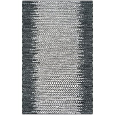 Glostrup Contemporary Hand Tufted Gray Area Rug Rug Size: Rectangle 5 x 8