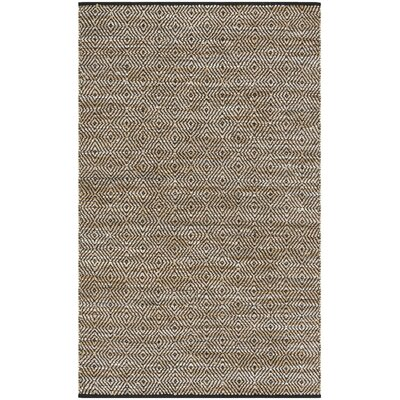 Glostrup Contemporary Hand Tufted Brown Area Rug Rug Size: Square 6'
