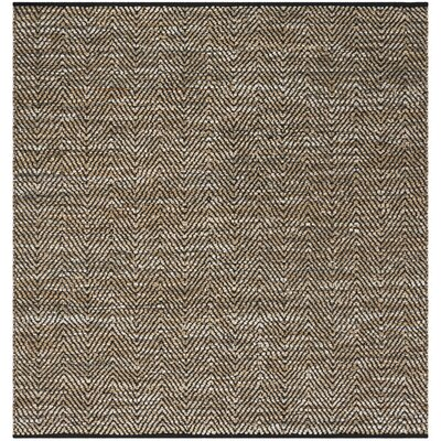 Glostrup Hand Tufted Beige Cotton Area Rug Rug Size: Square 6