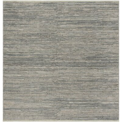 Glostrup Hand Tufted Gray Area Rug Rug Size: Square 6