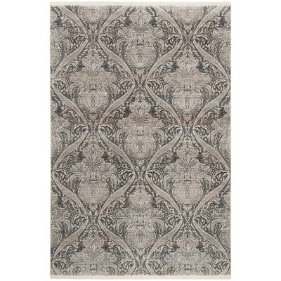 Egon Gray Area Rug Rug Size: Rectangle 8 x 10