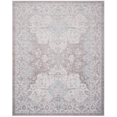 Edgehill Light Gray Area Rug Rug Size: Rectangle 4 x 6