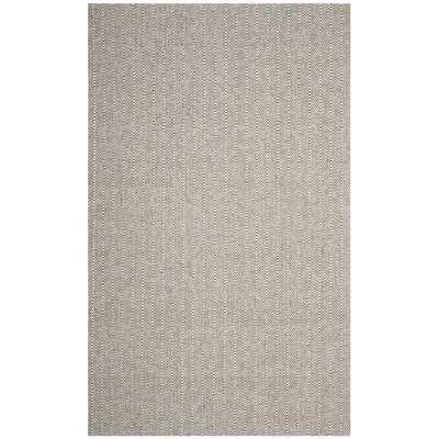 Cherif Versatile Hand Tufted Gray Area Rug Rug Size: Rectangle 5 x 8