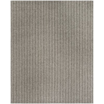 Cherif Hand Tufted Gray Solid Area Rug Rug Size: Rectangle 8 x 10