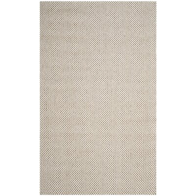 Cherif Versatile Hand Tufted Gray Solid Area Rug Rug Size: Rectangle 5 x 8