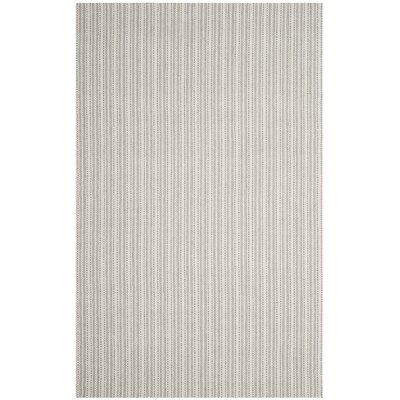 Cherif Hand Tufted Rectangle Gray Area Rug Rug Size: Rectangle 5 x 8