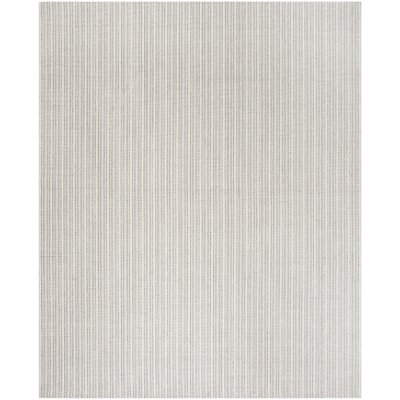 Cherif Hand Tufted Rectangle Gray Area Rug Rug Size: Rectangle 8 x 10