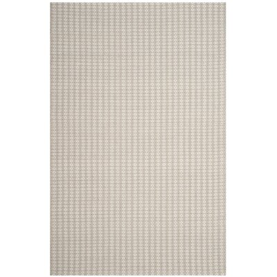 Cherif Hand Tufted Rectangle Gray Solid Area Rug Rug Size: Rectangle 5 x 8